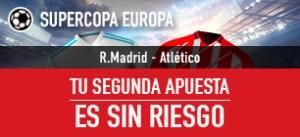 Supercopa europea,tu segunda apuesta sin riesgo en Sportium