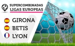 Empiezan las supercombinadas de las ligas europeas en Wanabet