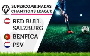 Las eliminatorias de Champions League traen supercombinadas en Wanabet