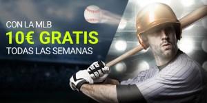 Con la MLB 10€ gratis todas las semanas en Luckia