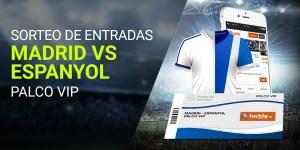 Sorteo entradas Real Madrid v Español en Luckia
