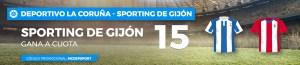 Megacuota 15 para el Sporting de Gijon en Paston