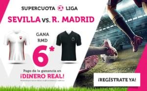 Megacuota de la liga R.Madrid 6.0 en Wanabet