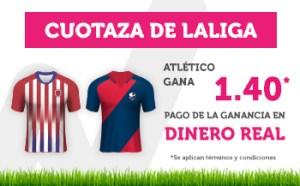 Cuotaza de la liga At Madrid gana 1.40 v Huesca en Wanabet