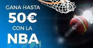 Gana hasta 50€ con la Nba y Paston