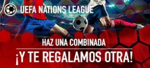 Uefa Nations haz una combinada y te regalamos  otra en Sportium