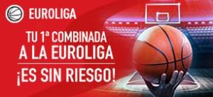 Euroliga tu 1ª apuesta es sin riesgo en Sportium