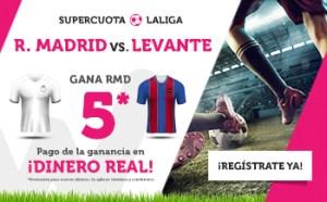 Megacuota liga Madrid 5.0 en Wanabet