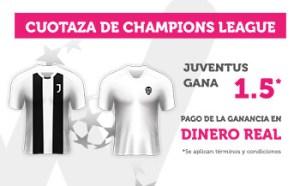 Cuotaza Champions 1.5 gana Juventus