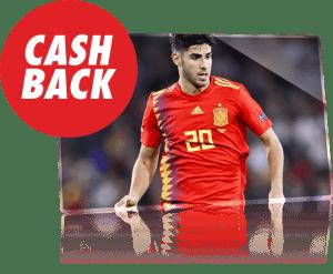Croacia-España apuesta reembolsada si hay mas de 3.5 goles en Circus