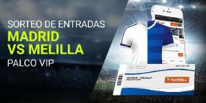 Sorteo entradas Madrid-Melilla en Luckia