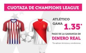 Cuotaza Champions 1.35 gana At Madrid en Wanabet