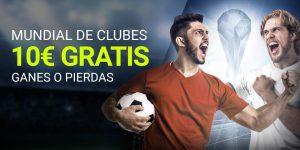 Mundialito de clubes 10€ gratis,ganes o pierdas en Luckia