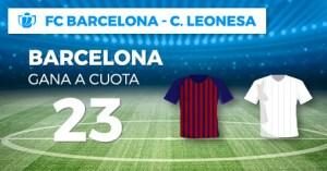 Megacuota 23 gana Barcelona a Leonesa en Paston