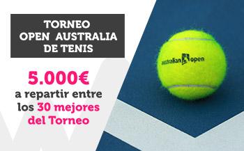 Torneo Open de Australia 5000€ a repartir en Wanabet