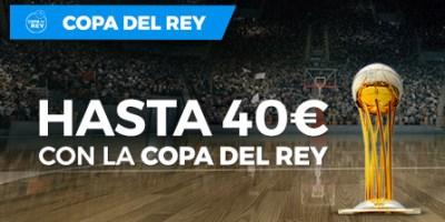 Hasta 40€ gratis con la Copa del Rey en Paston