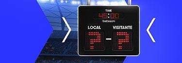 Ajax-Real Madrid marcador exacto en Betsson