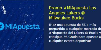 #miapuesta Lakers-Milwauke en William Hill