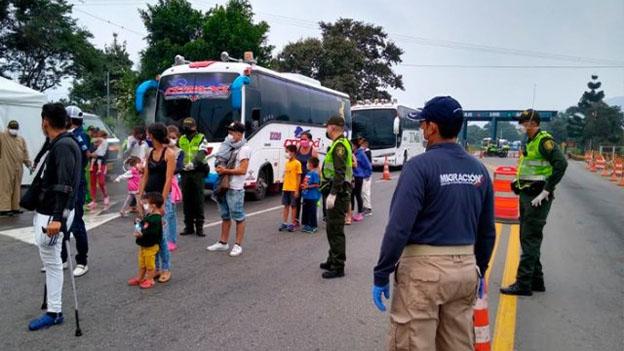 Migrantes Venezolanos Colombia Bogota