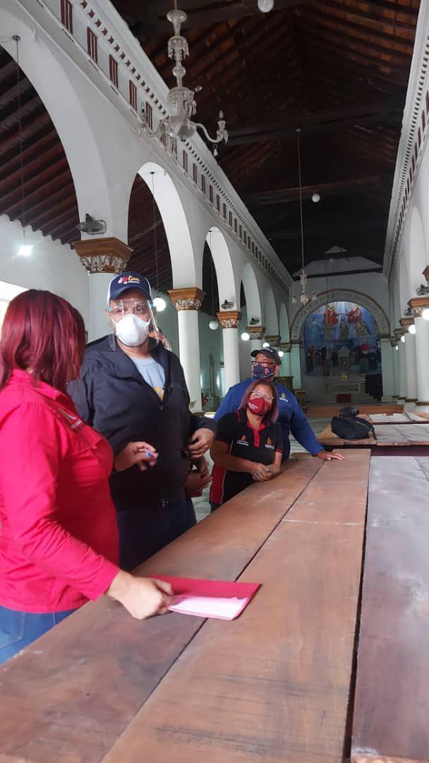Alcalde de Barquisimeto rechaza críticas del historiador Iván Brito sobre restauración de la Iglesia Concepción