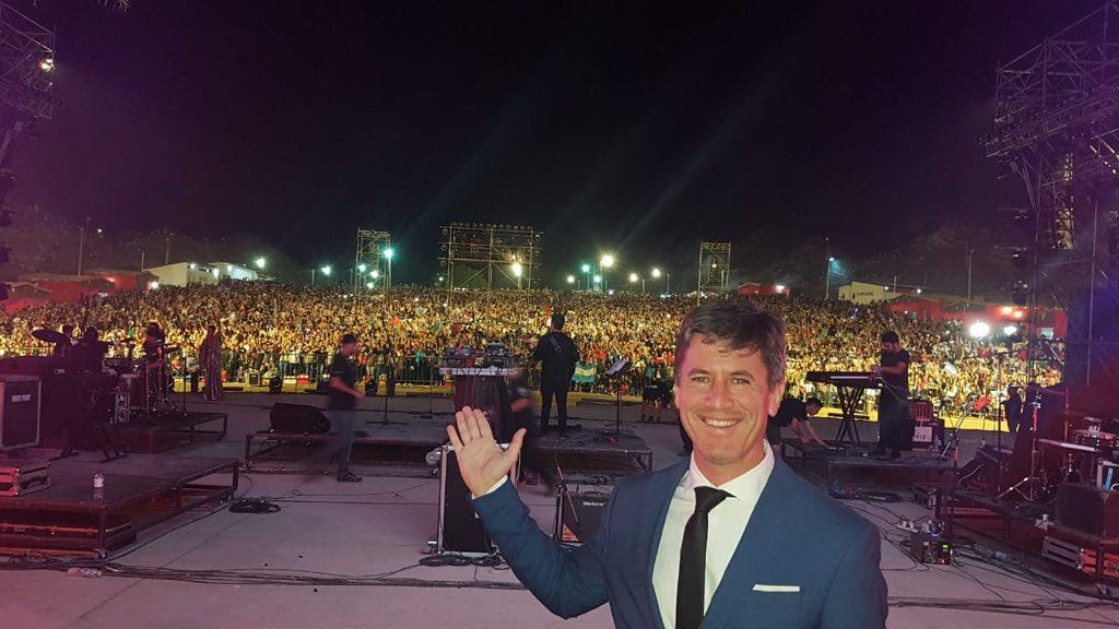 MARCELO IRIBARNE COMO CONDUCTOR INVITADO EN EL FESTIVAL MAYOR