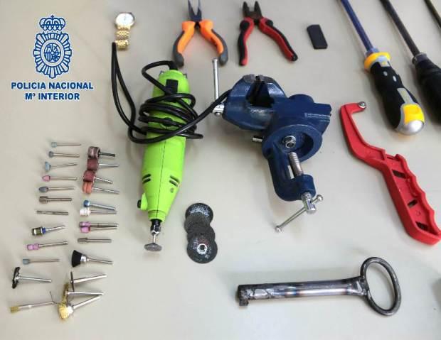 herramientas robos