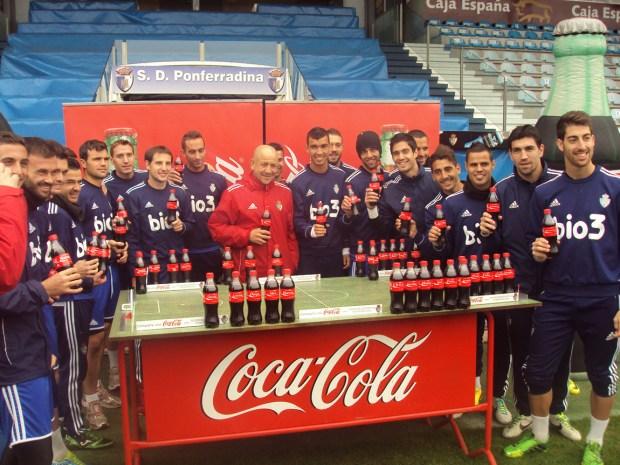 Coca Cola deportiva ponferradina
