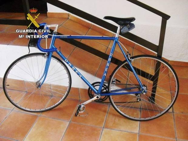 bicicleta robada bembibre