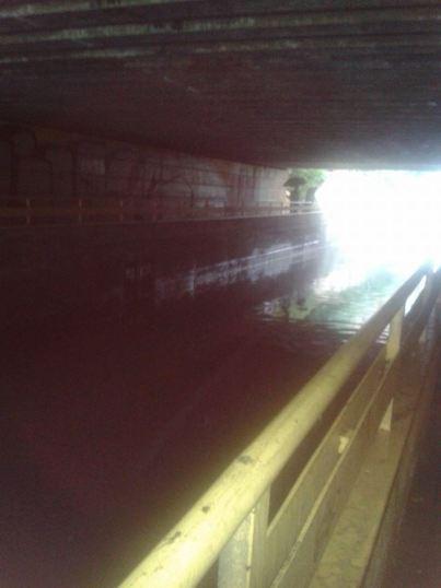 tunel ortega gaset inundado