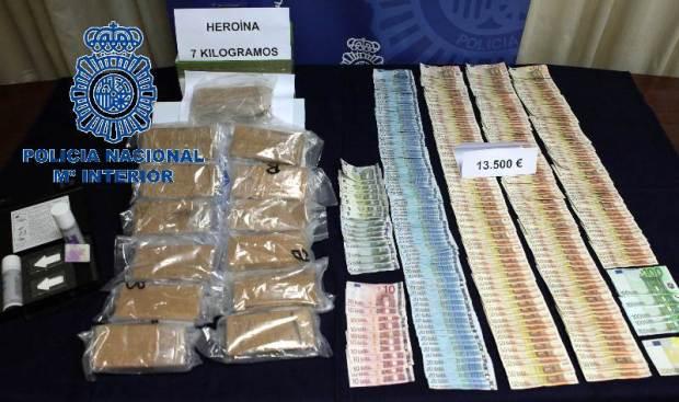 distribuidores heroina