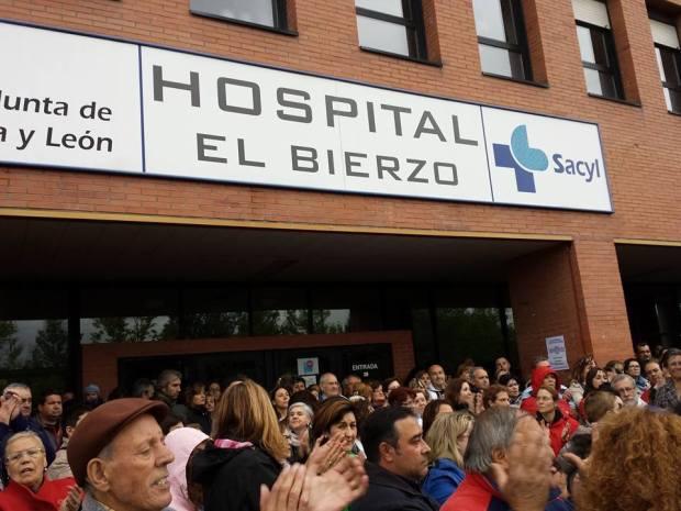 cadena humana hospital del bierzo