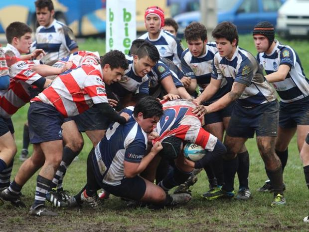 U18 bierzo rugby vs vigo