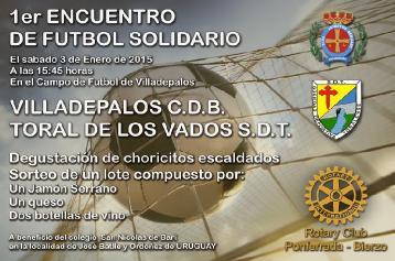 3 Enero-Partido solidario
