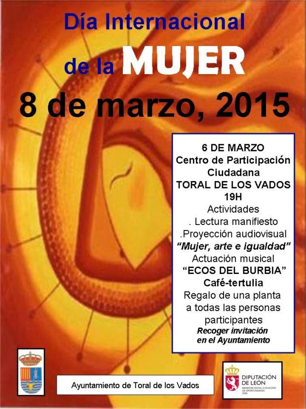 Dia mujer 2015 toral vados
