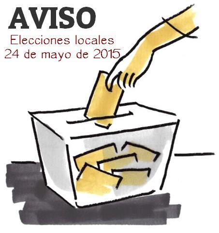 Aviso elecciones