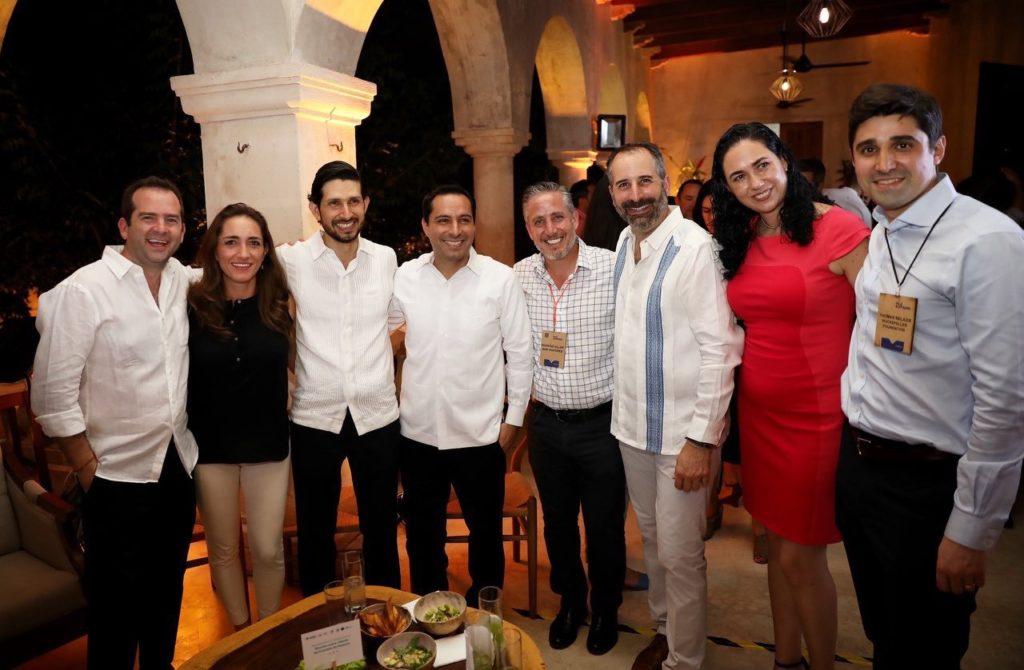 El Gobernador Mauricio Vila Dosal presenta avances de Yucatán ante líderes de inversión de impacto