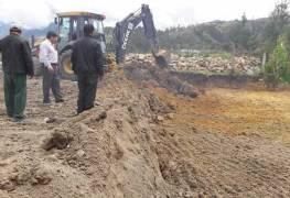 Construyen cancha de uso múltiple para Zhorzhán