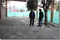 FOTO alcalde de Pucón realiza inspección de obras 1