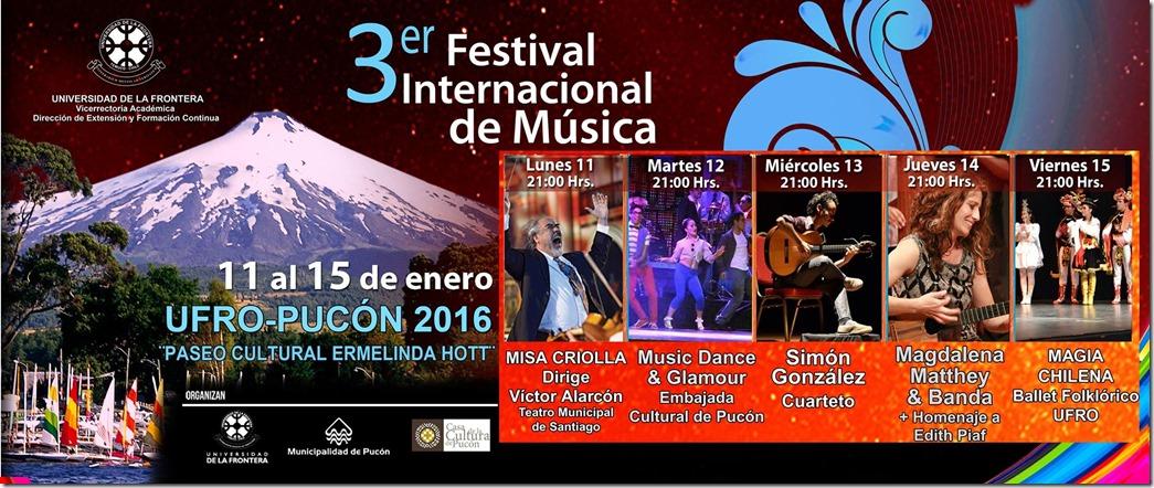 AFICHE festival internacional de música