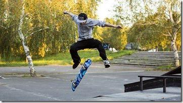 FOTO construcción skatepark