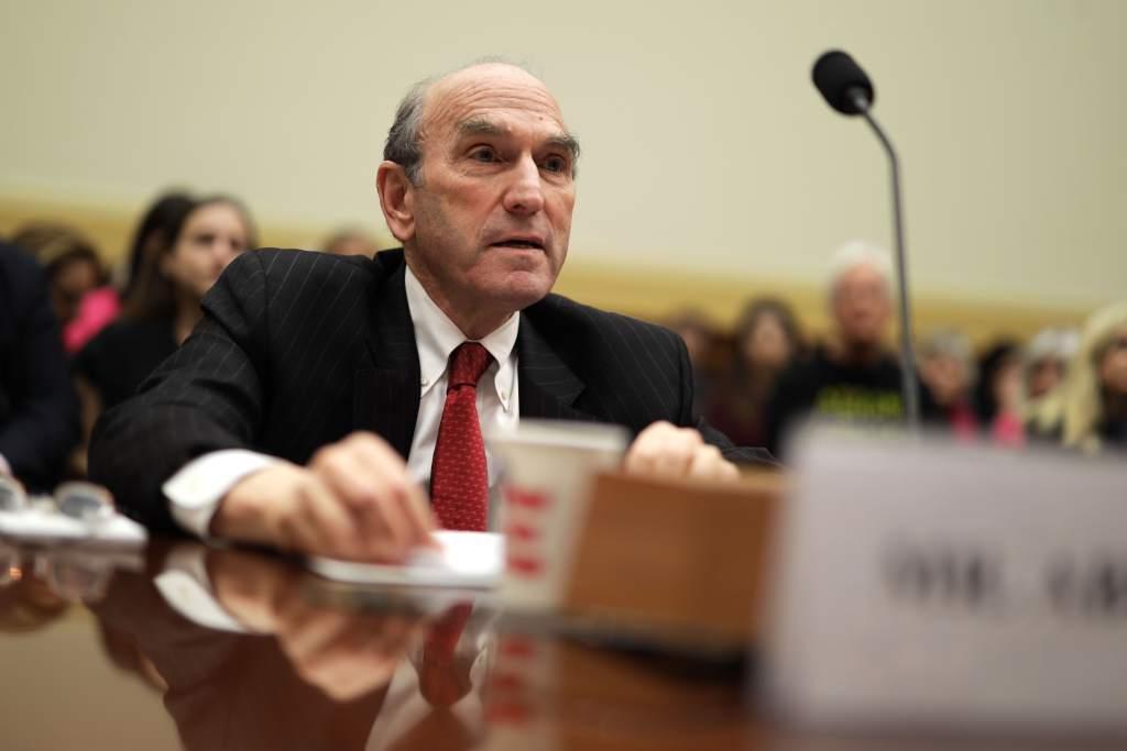 El representante especial de Estados Unidos para Venezuela, Elliott Abrams