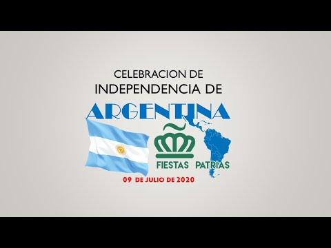 Celebracion Independencia de Argentina a cargo del Comité Fiestas Patrias de Charlotte