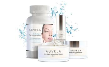¿Qué contiene el sistema cuidado de la piel Auvela?