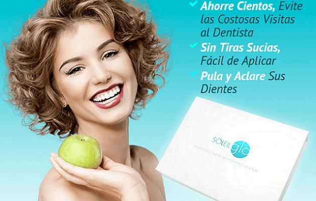 Obtenga dientes perfectos con El Kit de Blanqueamiento SoleilGLO