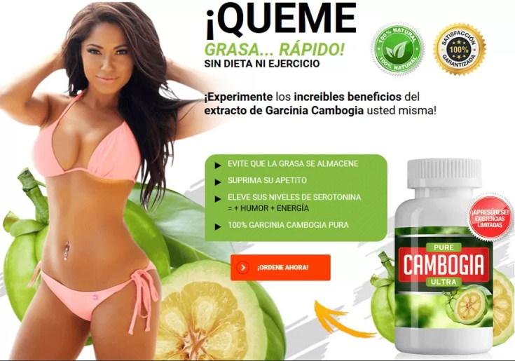 Pierda peso de forma natural: Pure Cambogia Ultra