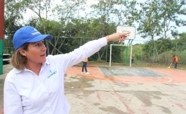 Recuperan en Tampico más Espacios para la Integración Social y Deportiva