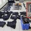 Aseguran en Díaz Ordaz depósito de armas oculto en hieleras