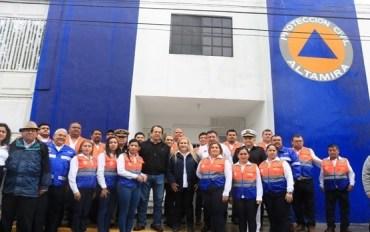 Inaugura Alma Laura Amparán nuevas oficinas de Dirección de Protección Civil