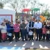 Entrega Chucho Nader Moderno Parque Recreativo en la Colonia Borreguera