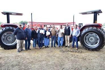 Agricultores de San Carlos fueron beneficiados con maquinaria agrícola